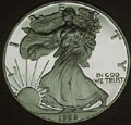 1998 Gem Proof Silver Eagle Dollar Singles
