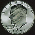 1971-S 40% Silver Gem Proof Eisenhower Dollar Singles
