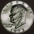 1973-S Gem Proof Eisenhower Dollar Singles