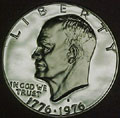 1976-S 40% Silver Gem Proof Eisenhower Dollar Singles