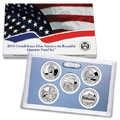2010 America the Beautiful Quarters Clad Proof Set Q5A