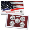 2010 America the Beautiful Quarters Silver Proof Set SV2