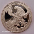 2012-S Gem Proof El Yunque National Forest - America Beautiful