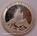 2012-S Gem Proof Hawaii Volcanoes National Park  - ATB