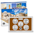 2013 America the Beautiful Quarters Proof Set Q5D