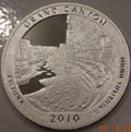 2010-S 90% Silver Proof Grand Canyon National Park