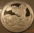 2010-S 90% Silver Proof Yellowstone National Park
