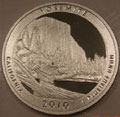 2010-S 90% Silver Proof Yosemite National Park