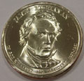 2010-D CH BU James Buchanan Presidential Dollar Singles