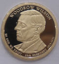 2013-S Gem Proof Woodrow Wilson Presidential Dollar Singles
