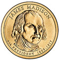 2007-D CH BU Madison Presidential Dollar Singles
