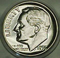 1955 Gem Proof Roosevelt Dime Singles