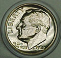 1962 Gem Proof Roosevelt Dime Singles