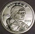 2000-S Gem Proof Sacagawea Dollar Singles