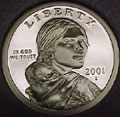 2001-S Gem Proof Sacagawea Dollar Singles