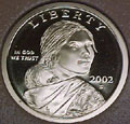 2002-S Gem Proof Sacagawea Dollar Singles
