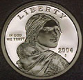 2004-S Gem Proof Sacagawea Dollar Singles