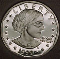1999-P Gem Proof SBA Dollar Singles