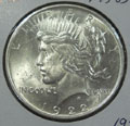 1922 Peace Dollar in MS63 Condition